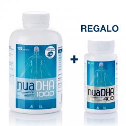 NuaDHA 1000 (132 perlas) + Regalo